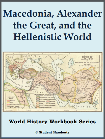 macedonia alexander the great and the hellenistic world history workbook free to print. Black Bedroom Furniture Sets. Home Design Ideas