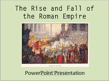 "the rise of rome as a civilization Civilizations are harder to define with exact years, but at the beginning of the new covenant, rome was already in decline in the church's future would be other large nations and empires in the west: the ""holy"" roman empire, various colonial powers, the spanish, the portuguese, and the french."