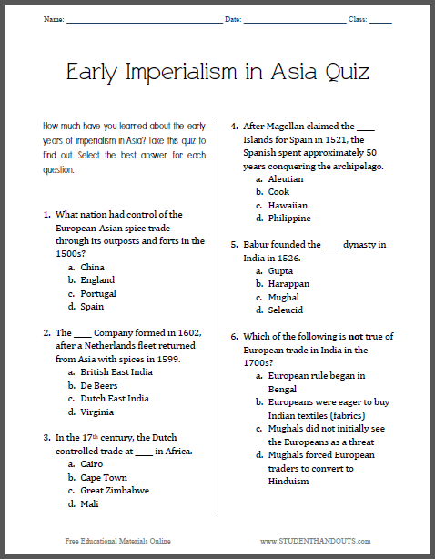 ap world history imperialism essay