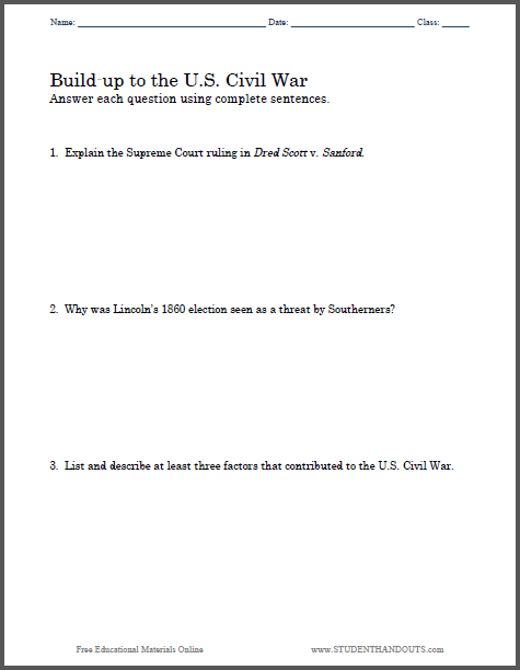essay on the american civil war Civil war term papers (paper 16349) on causes of the civil war : causes of the american civil war i introduction to civil war the american civil war was.