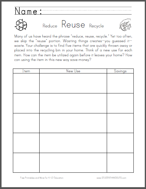 Free Printable Worksheet - Scroll Down to Print (PDF) - Handwriting ...