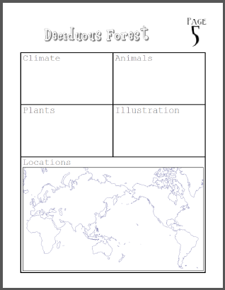 My book about biomes project student handouts this is a fun diy booklet project on biomes for earth scence students in grades 5 8 its 100 free to print and includes a printable grading rubric gumiabroncs Images